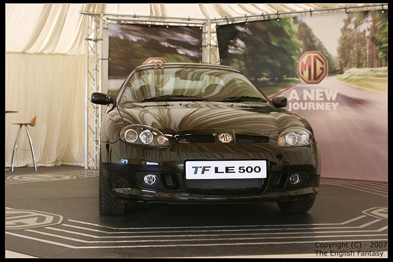 MG TF 500 LE MGFest 2007